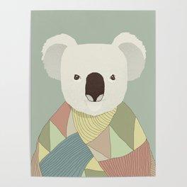 Whimsical Koala Poster