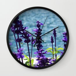 Violet Swiss Wall Clock