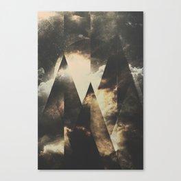 The mountains are awake Canvas Print