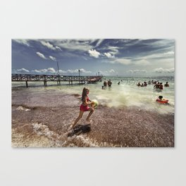 The Spirit of Summer Canvas Print