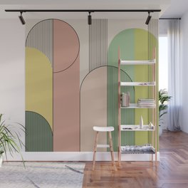 Abstract Arches I Wall Mural