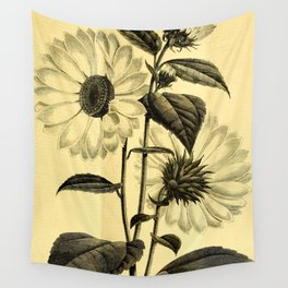 Sunflower Helianthus multiflorus 1891 Wall Tapestry