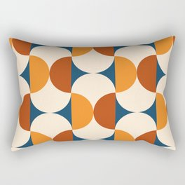 60s Beans Pattern Rectangular Pillow