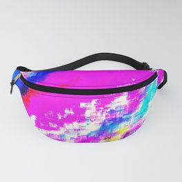 Glitchy Pinkness Fanny Pack