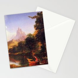 Voyage of Life: No. 2 of 4 Youth by Thomas Cole Stationery Cards