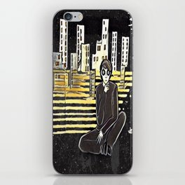 Grown up chaos iPhone Skin
