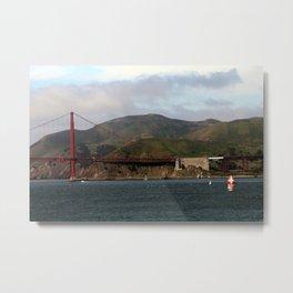 Golden Gate & Marin Headlands Metal Print