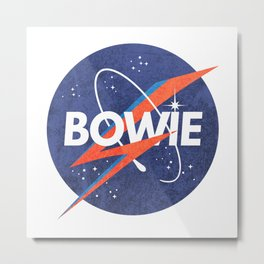 Iconic Bowie Metal Print