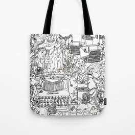 A day out with Lula Tote Bag