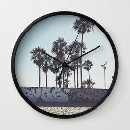 Palms x Walls Wall Clock