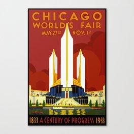 1933 Chicago World's Fair Canvas Print