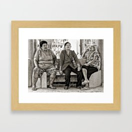 Waiting !! (You know the feeling). Framed Art Print