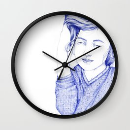 Jack and Louise Wall Clock