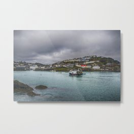 Mevagissy Cornwall Metal Print