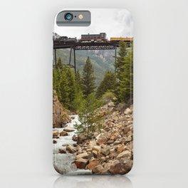 Colorado Mountain Train Georgetown Loop Railroad iPhone Case