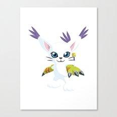 DIGIMON - Gatomon Canvas Print
