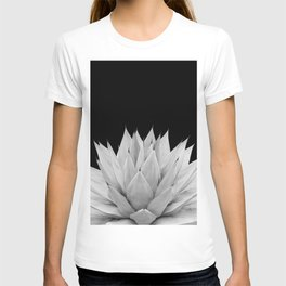 Agave Black & White Summer Night Vibes #1 #tropical #decor #art #society6 T-shirt