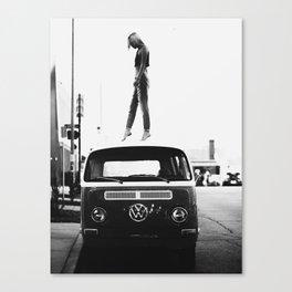 Woman, Girl, Fashion, Photo, Styled print Canvas Print