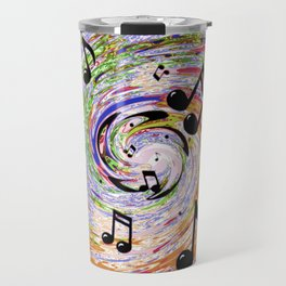 Music Notes Travel Mug