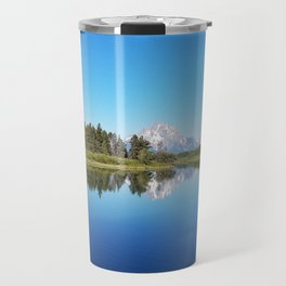 Reflections at Oxbow Bend Travel Mug