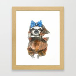 Gertie the Grump Framed Art Print