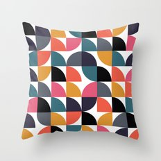 Quarter pattern Throw Pillow