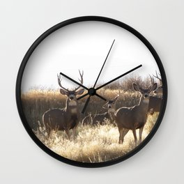 a few of the Mulies Wall Clock