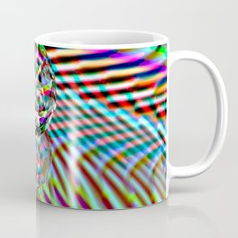 The second Colour of facets Coffee Mug