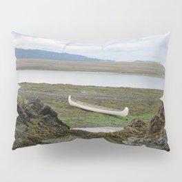 Abandoned :: A Lone Canoe Pillow Sham