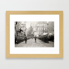 Scenes of the occupation of Constantinople Framed Art Print