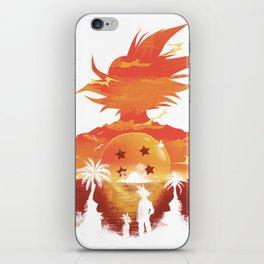 Dragonball sunset iPhone Skin