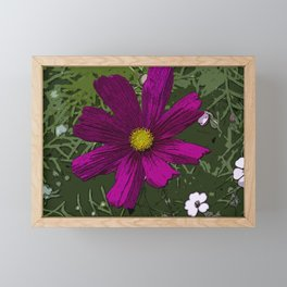 The Middle - Flowerbed Framed Mini Art Print