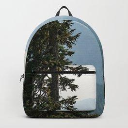 Mount Rainier Summer Adventure III - Pacific Northwest Mountain Landscape Backpack