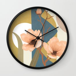 Elegant Shapes 02 Wall Clock