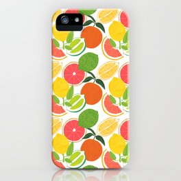 Citrus Harvest iPhone Case