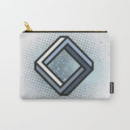 Impossible Rhombus Carry-All Pouch
