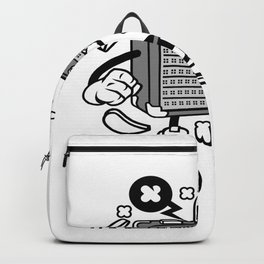 Amplifier for animated characters comics and pop culture lovers Backpack