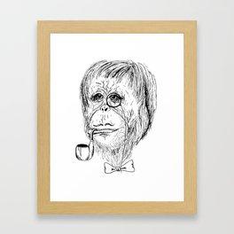 Sir Cornellius Framed Art Print