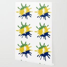 The Flag of Brazil II Wallpaper