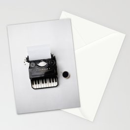 On a musical note Stationery Cards