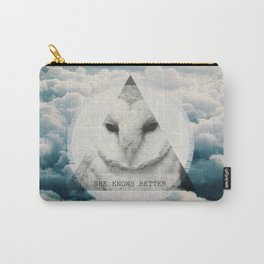-She Knows Better Carry-All Pouch