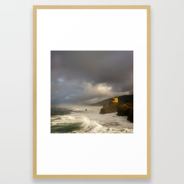 Lost Coast Framed Art Print