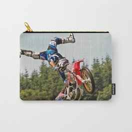 Motocross stuntman Carry-All Pouch