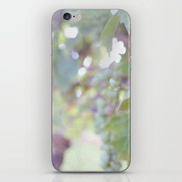 Sunlight on the Grape Vines iPhone Skin