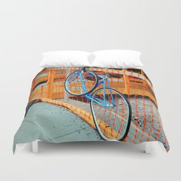 'Bout Fencing Duvet Cover