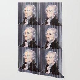 Blue Drip Alexander Hamilton Wallpaper