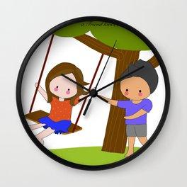 Swinging Wall Clock
