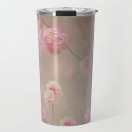 Rose, rose, red rose,  Rose in the heather... Travel Mug