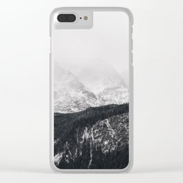 Disappearing Mountain Clear iPhone Case