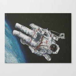 Space Dude Canvas Print